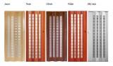 Nové barvy shrnovacích dveří