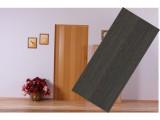 Plastové shrnovací dveře plné-wenge