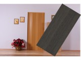 Rozšiřující lamela na plastové shrnovací dveře - wenge, neprosklené