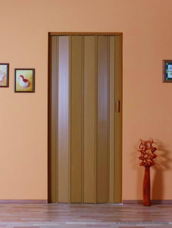 Shrnovací dveře neprosklené - plné